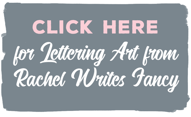 lettering art cta