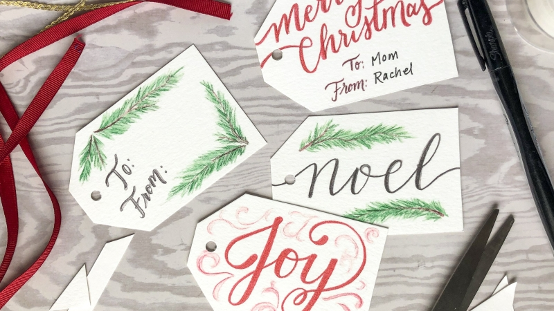 Merry Christmas! {FREE printable gift tags}