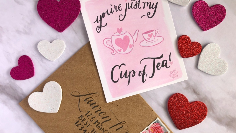 Love is in the air! {Free Printable Valentines}