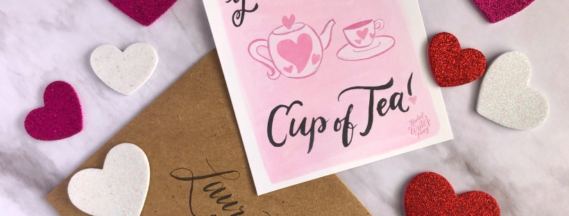 Cup of Tea Printable Valentine