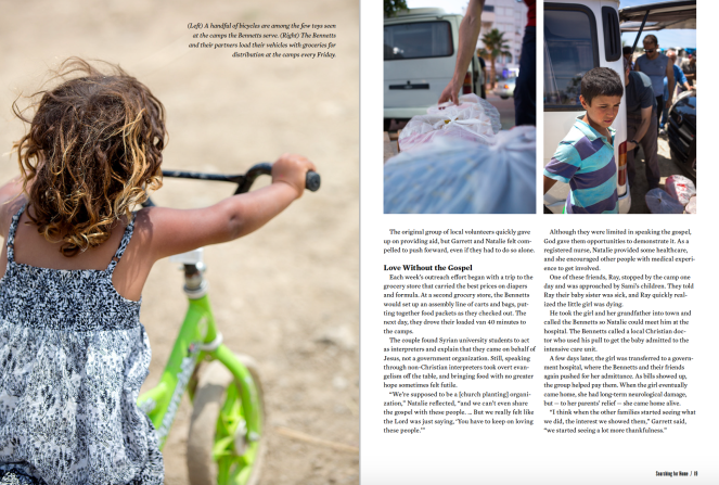 Feature story spread 4